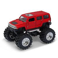 Игрушка Welly (Велли) модель  машины 1:34-39 Hammer H3 Big Wheel, фото 1