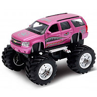 Игрушка Welly (Велли) модель  машины 1:34-39 Chevrolet Tahoe Big Wheel Monster