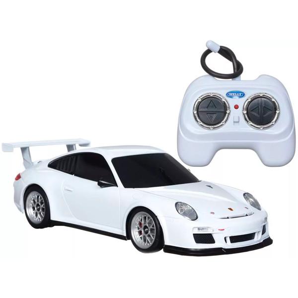 Игрушка Welly (Велли) р/у модель машины 1:24 Porsche 911 GT3 Cup