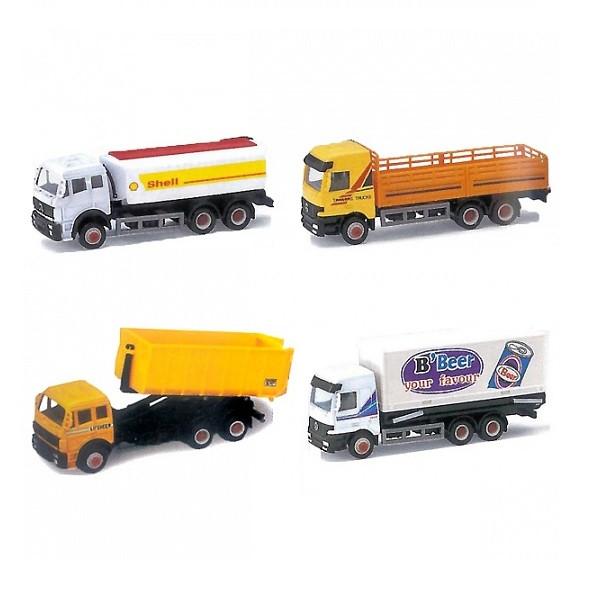 Игрушка Welly (Велли) модель грузовика 15см. в ассорт 16 видов