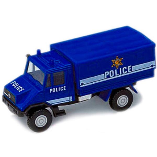 Игрушка Welly (Велли) грузовик с кузовом Полиция