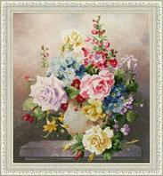 """Набор для вышивания крестом """"Цветочная мозаика"""""""