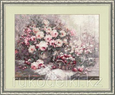 """Набор для вышивания крестом """"Розовый Прованс. Стиль жизни"""""""