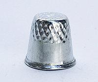 Наперсток швейный, металлический, 2 см