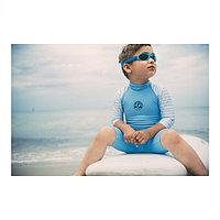 Солнцезащитный комбинезон голубой