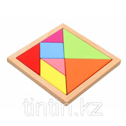 Головоломка - Танграм (18х18 см), фото 2