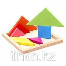 Головоломка - Танграм (14х14см), фото 3