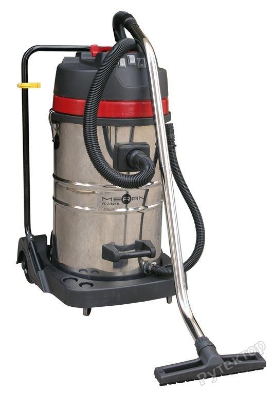 Пылесос профессиональный (пылеводосос), 3000W, 100l - MERAN VC-3/100TR