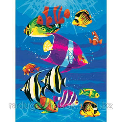 """Картины по номерам """"Яркие рыбки"""""""