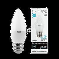 Лампа GAUSS LED ELEMENTARY CANDLE 4100K
