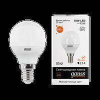 Лампа GAUSS LED ELEMENTARY GLOBE E14 3000K