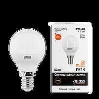 Лампа GAUSS LED ELEMENTARY GLOBE  4100K