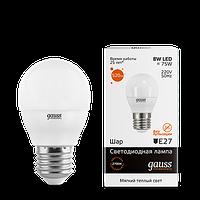 Лампа GAUSS LED ELEMENTARY GLOBE  E27 3000K