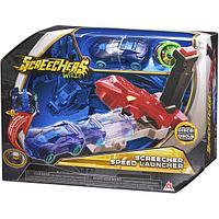 """Дикие Скричеры. Игровой набор """"Screechers Wild"""" Пускатель авто и Машинка-трансформер Найтбайт"""