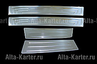 Накладки  на дверные пороги  Kia Sportage / Киа Спортейдж