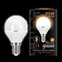 Лампа GAUSS LED FILAMENT GLOBE E14  3000K