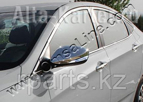 Накладки на зеркала для с повтор. поворота Hyundai Accent / Хенде Акцент