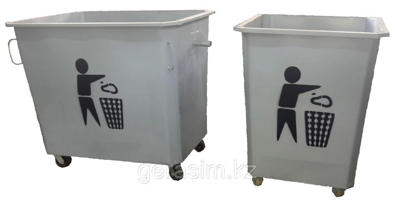 Металлические мусорные контейнеры (НДС 12% в т.ч.)
