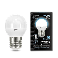 Светодиодная лампа GAUSS LED GLOBE E27  4100K
