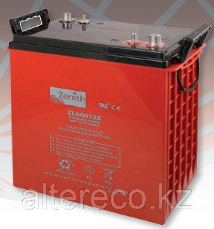 Тяговый аккумулятор Zenith ZL060125, фото 2