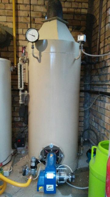Газовый Паровой котел КОП300Г с газовой горелкой