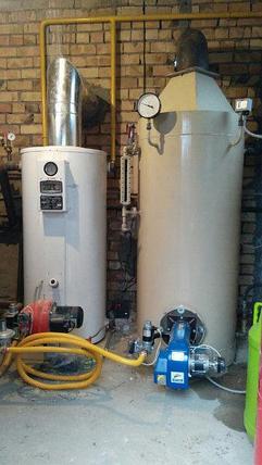 Газовый Паровой котел КОП300Г с газовой горелкой, фото 2