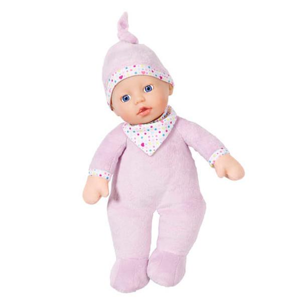 Игрушка BABY born Кукла мягкая с твердой головой, 30 см, дисплей