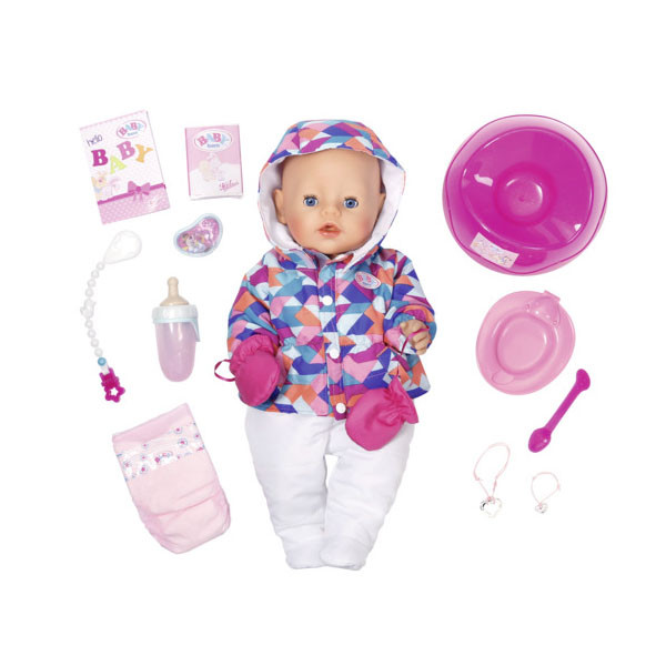 Игрушка BABY born Кукла Интерактивная Зимняя пора, 43 см, кор.