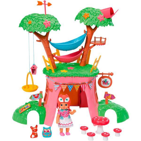 Игрушка Zapf Creation CHOU CHOU (Шу-Шу) Мини-лисичка Дерево-домик функц. с куклой, кор.