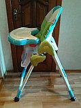 Стульчик для кормления Mamalove со съемной игровой панелью, фото 4