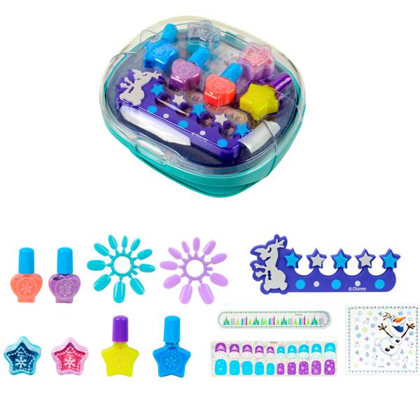 Frozen Игровой набор детской декоративной косметики с сушкой лака