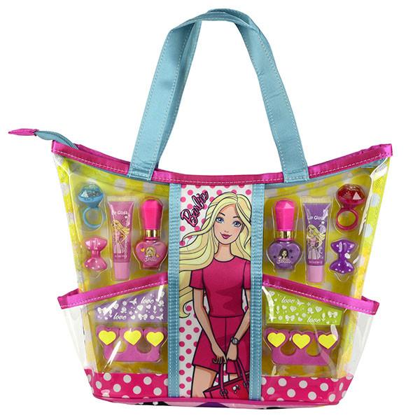 Barbie Игровой набор детской декоративной косметики с сумкой