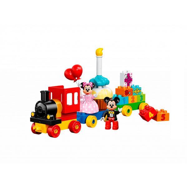 Игрушка Лего Дупло (Lego Duplo) День рождения с Микки и Минни