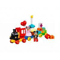 Игрушка Лего Дупло (Lego Duplo) День рождения с Микки и Минни, фото 1