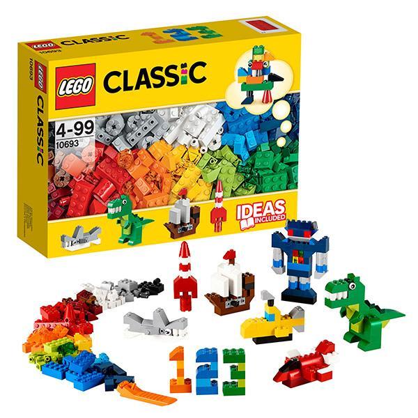 Игрушка Лего Классика (Lego Classic) Дополнение к набору для творчества – яркие цвета