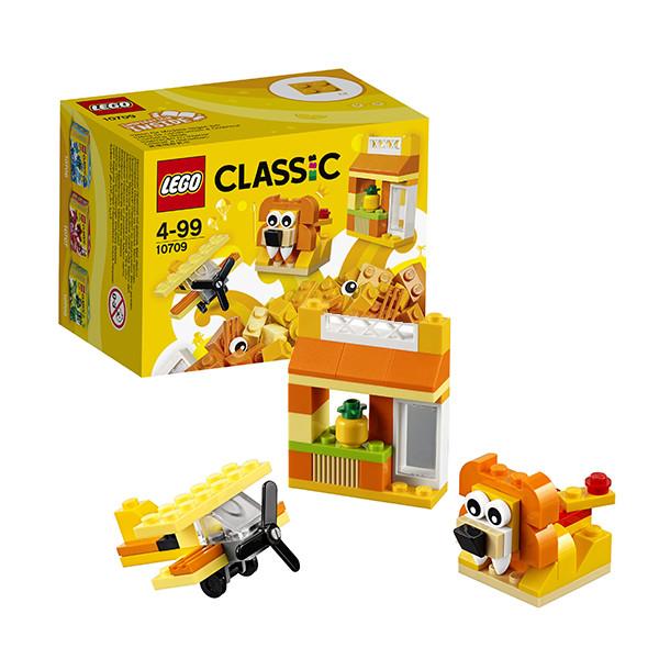 Игрушка Лего Классика (Lego Classic) Оранжевый набор для творчества