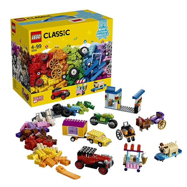 Игрушка Лего Классика (Lego Classic) Модели на колёсах
