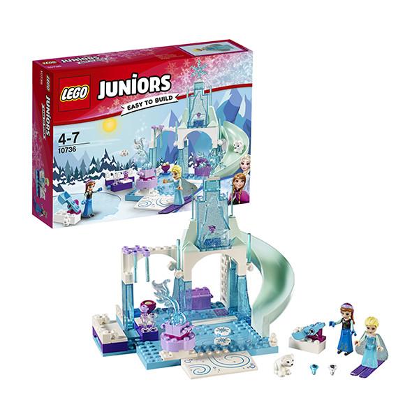 Игрушка Лего Джуниорс (Lego Juniors) Игровая площадка Эльзы и Анны