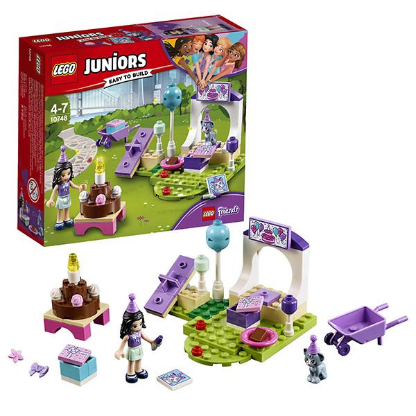 Игрушка Лего Джуниорс (Lego Juniors) Вечеринка Эммы для питомцев