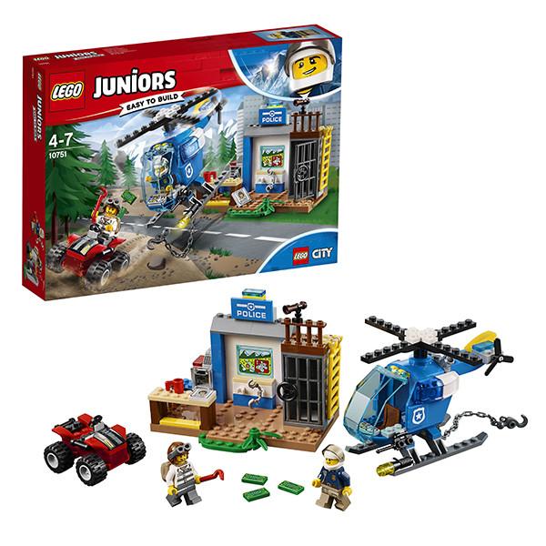 Игрушка Лего Джуниорс (Lego Juniors) Погоня горной полиции