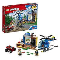 Игрушка Лего Джуниорс (Lego Juniors) Погоня горной полиции, фото 1