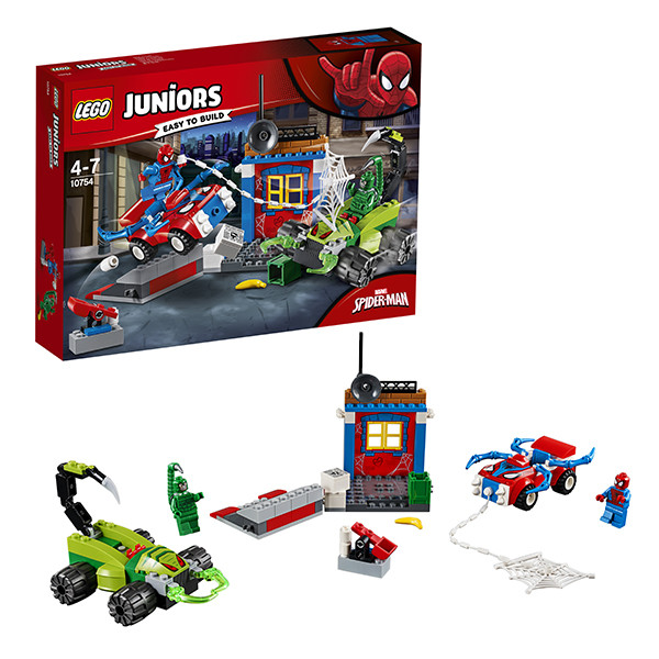 Игрушка Лего Джуниорс (Lego Juniors) Решающий бой Человека-паука против Скорпиона™