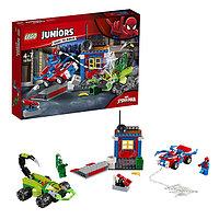 Игрушка Лего Джуниорс (Lego Juniors) Решающий бой Человека-паука против Скорпиона™, фото 1