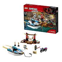 Игрушка Лего Джуниорс (Lego Juniors) Погоня на моторной лодке Зейна, фото 1