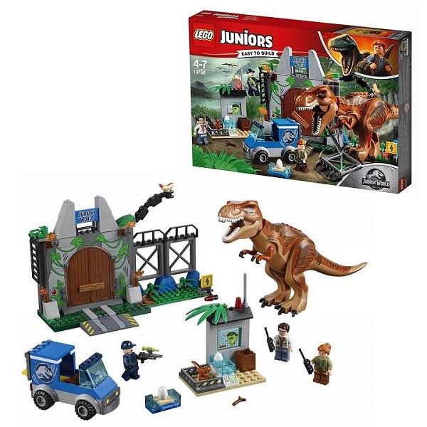 Игрушка Лего Джуниорс (Lego Juniors) Мир Юрского Периода (Jurassic World) Побег Ти-Рекса™