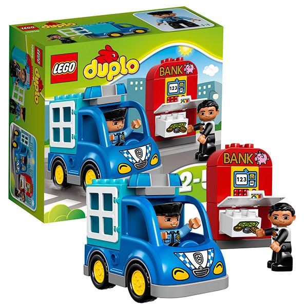 Игрушка Лего Дупло (Lego Duplo) Полицейский патруль