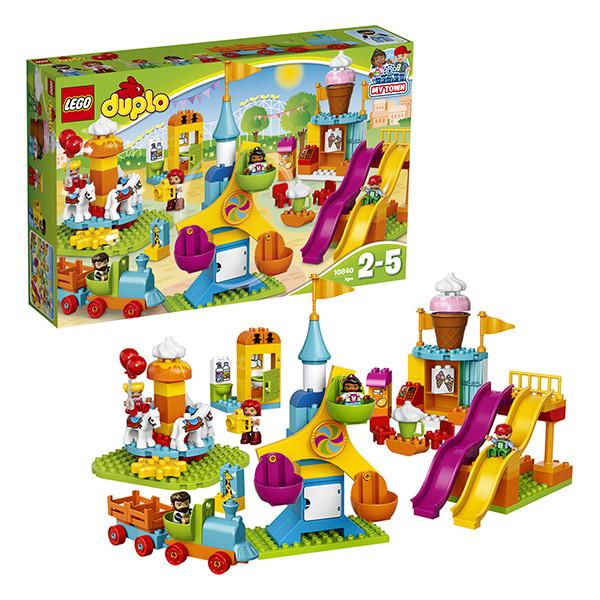 Игрушка Лего Дупло (Lego Duplo) Большой парк аттракционов