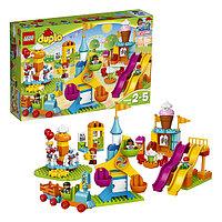 Игрушка Лего Дупло (Lego Duplo) Большой парк аттракционов, фото 1