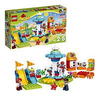 Игрушка Лего Дупло (Lego Duplo) Семейный парк аттракционов, фото 1