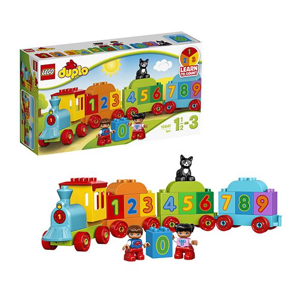 Игрушка Лего Дупло (Lego Duplo) Поезд Считай и играй